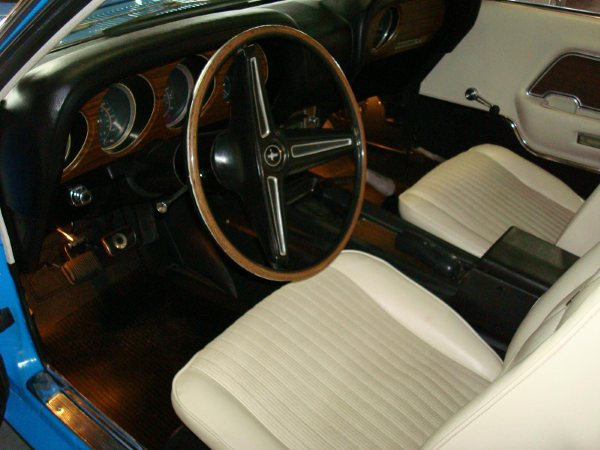 1970 FORD MUSTANG BOSS 429 FASTBACK - Interior - 80958