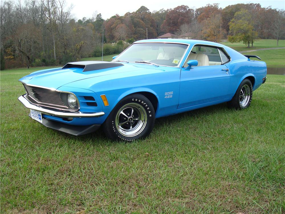 1970 FORD MUSTANG BOSS 429 FASTBACK - Side Profile - 80958