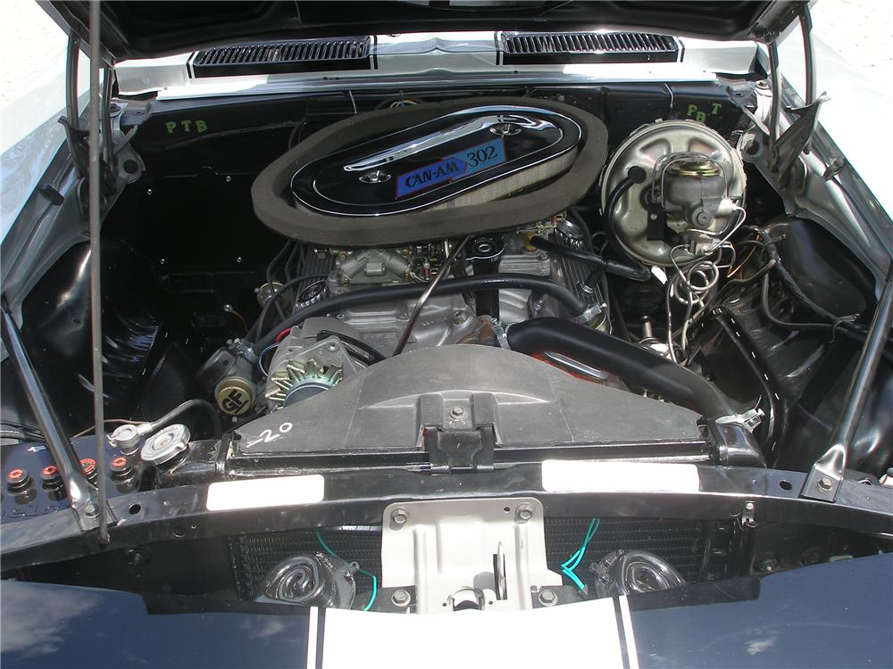 1969 CHEVROLET CAMARO Z/28 COUPE - Engine - 80962