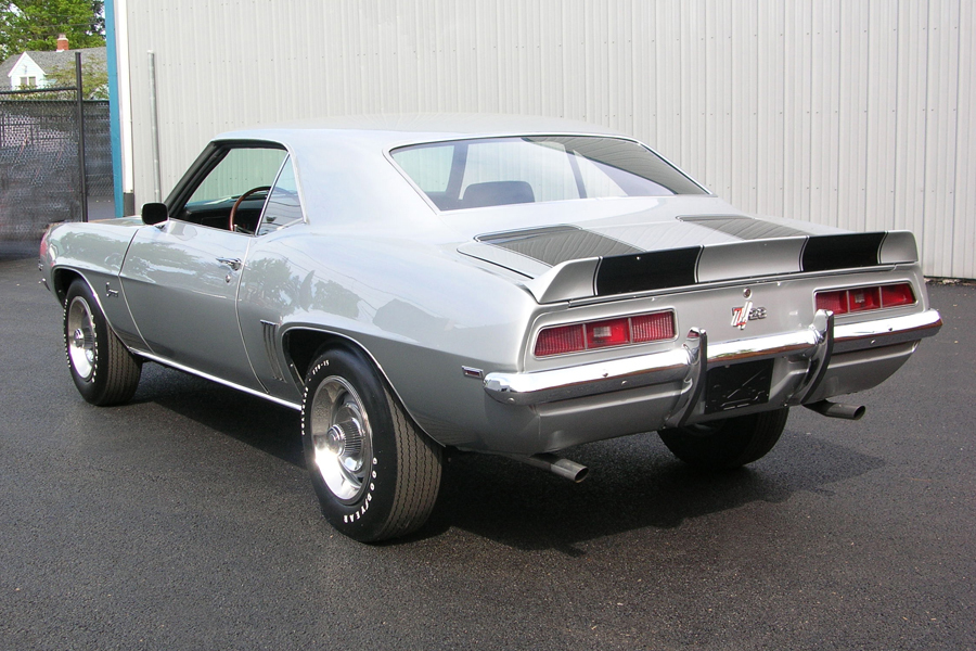 1969 CHEVROLET CAMARO Z/28 COUPE - Rear 3/4 - 80962