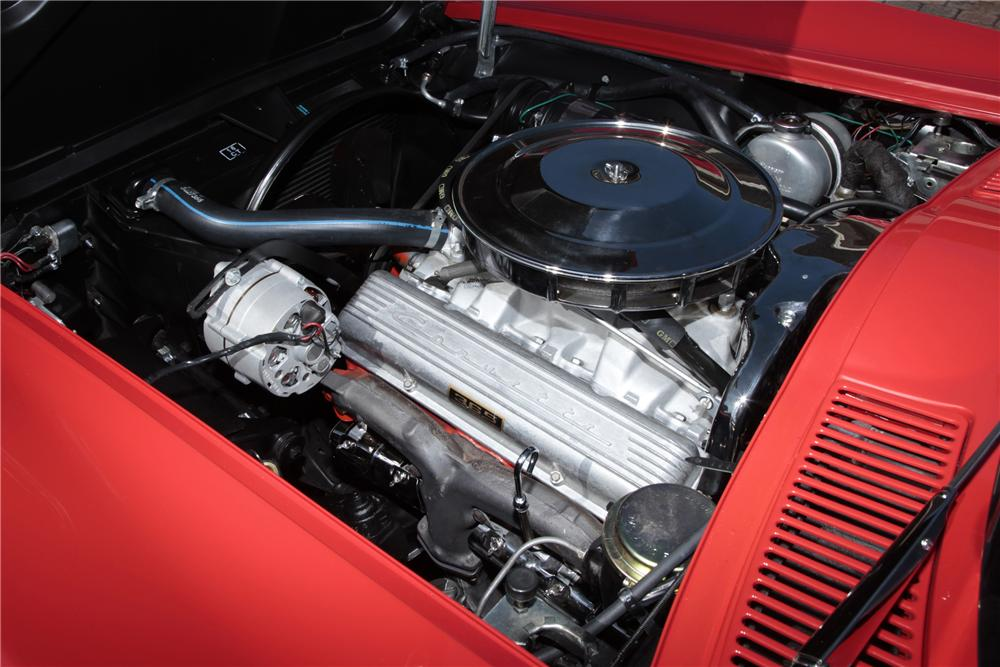 1965 CHEVROLET CORVETTE CONVERTIBLE - Engine - 80963