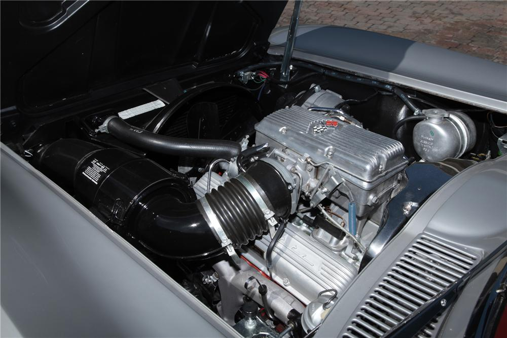 1964 CHEVROLET CORVETTE CONVERTIBLE - Engine - 80965