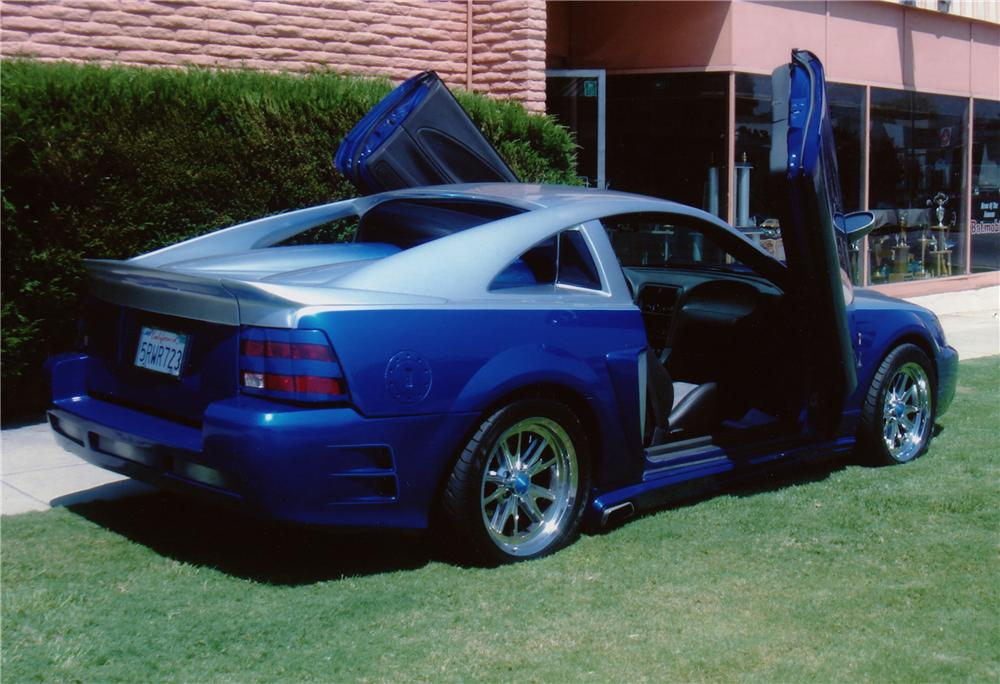 2003 FORD MUSTANG COBRA KUSTOM RANCHERO - Rear 3/4 - 80968