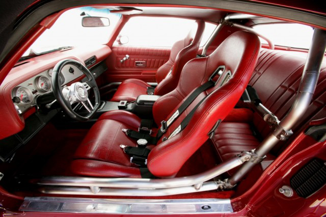 1976 CHEVROLET CAMARO CUSTOM COUPE - Interior - 80971
