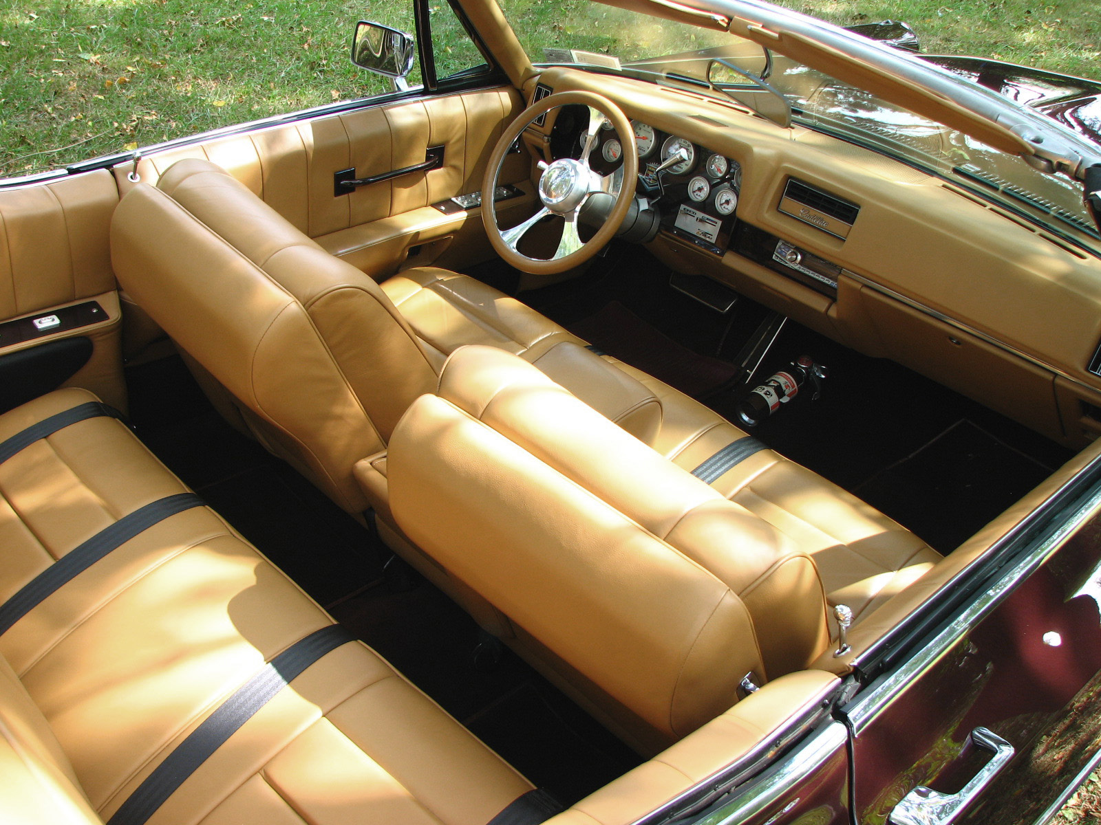 Interior Web on 1968 Deville Convertible