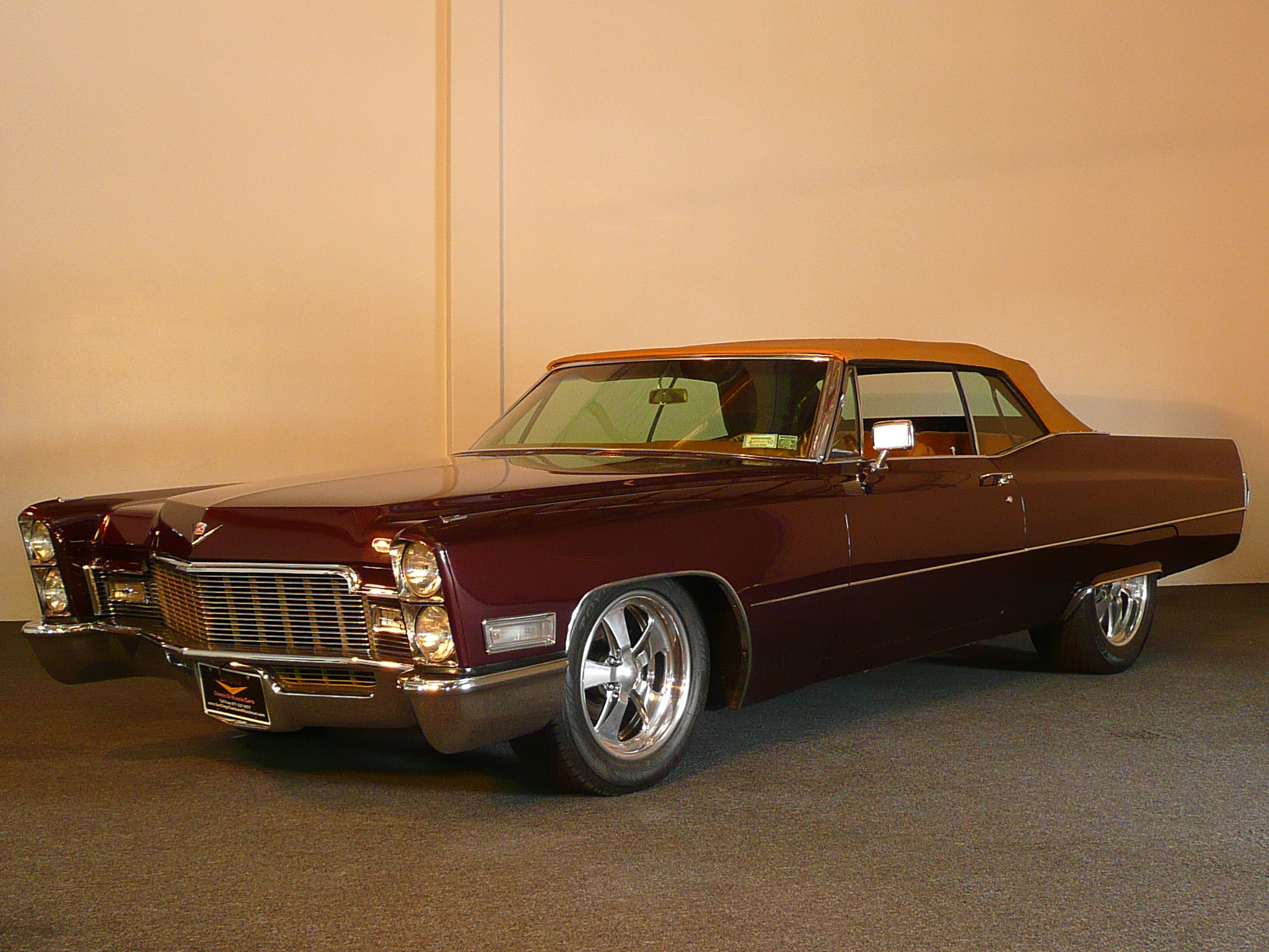 1968 Cadillac De Ville Custom 2 Door Convertible 80974