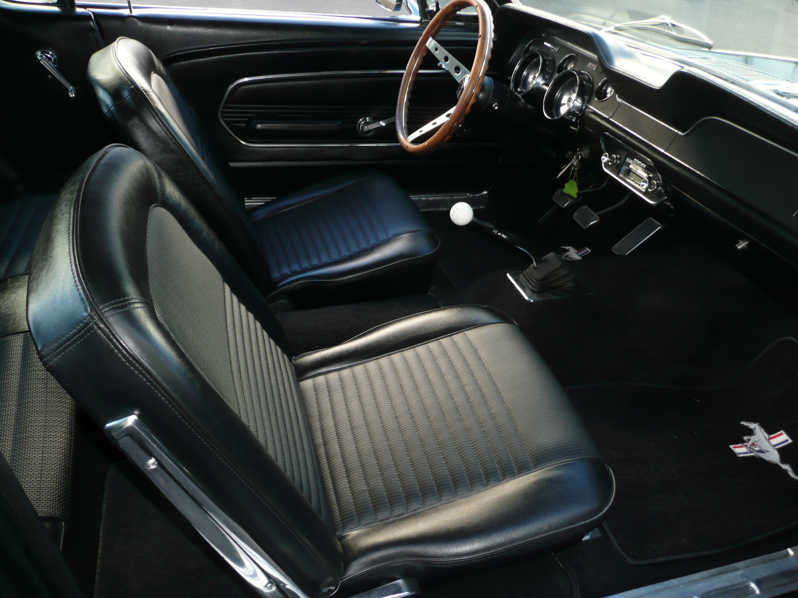 1967 ford mustang gt coupe interior 80976