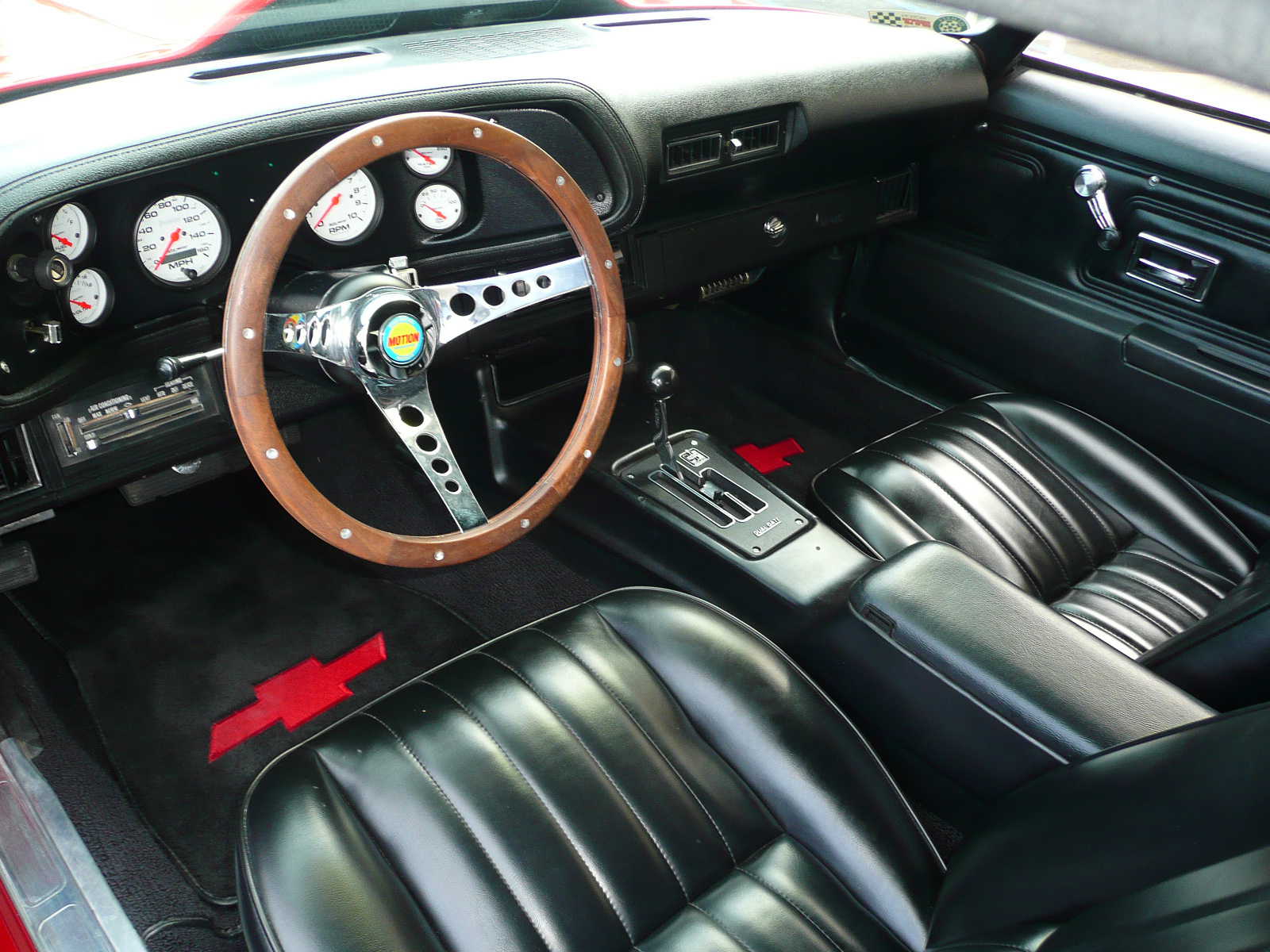 1970 CHEVROLET CAMARO CUSTOM CAMARO COUPE - Interior - 80977