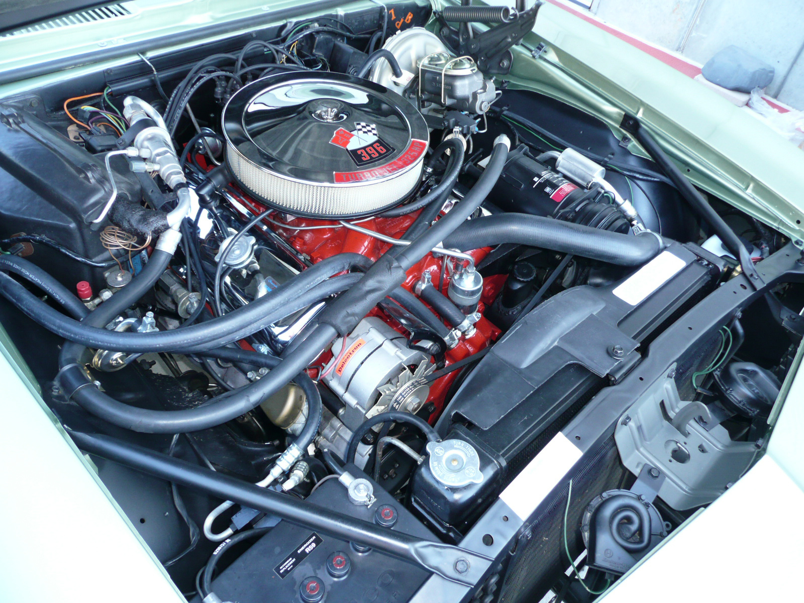 1969 CHEVROLET CAMARO SS COUPE - Engine - 80979