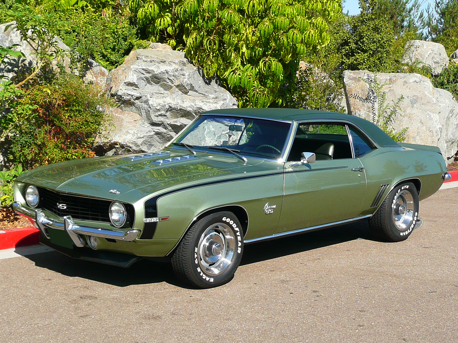 1969 CHEVROLET CAMARO SS COUPE - Front 3/4 - 80979