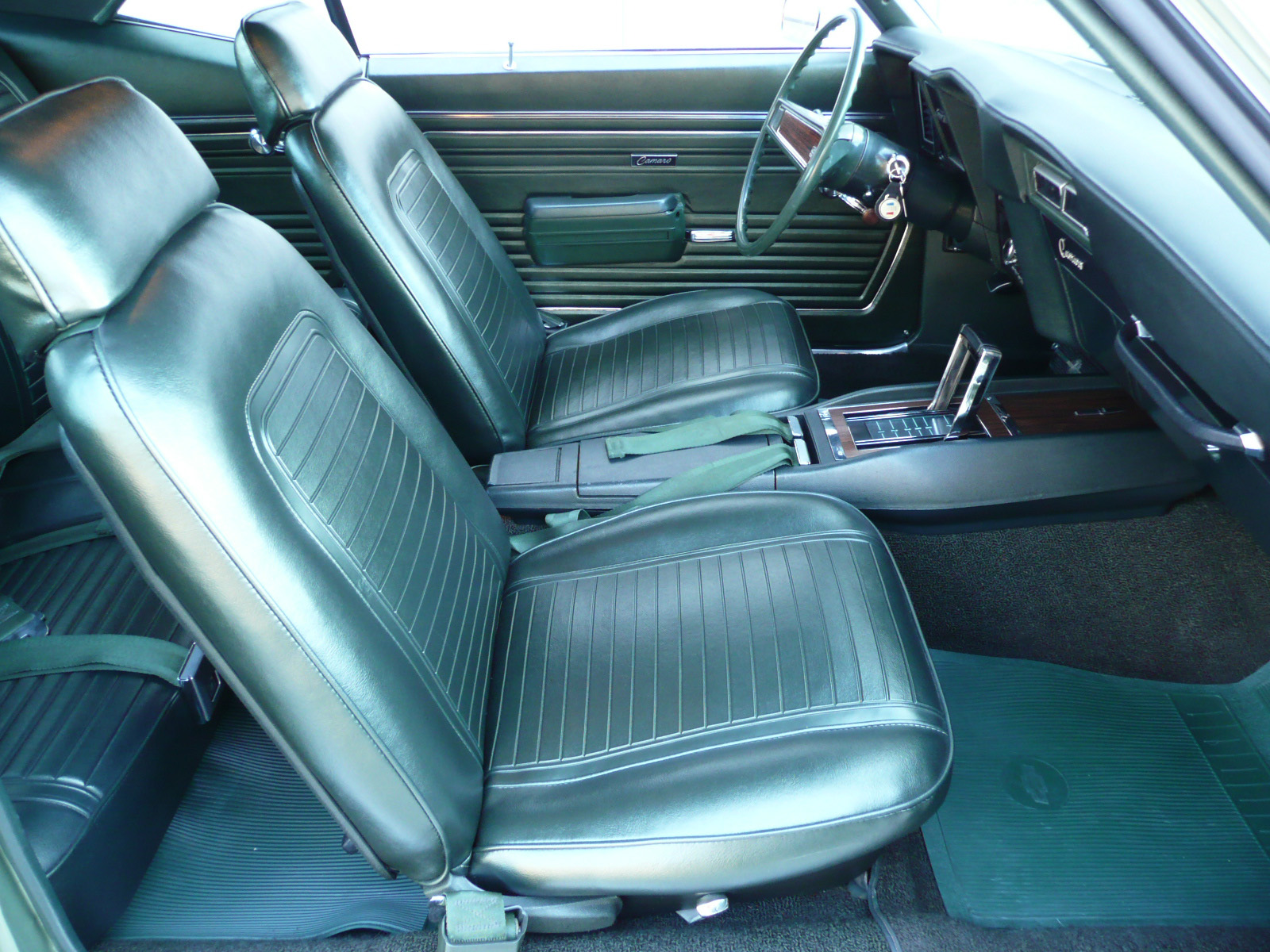1969 CHEVROLET CAMARO SS COUPE - Interior - 80979