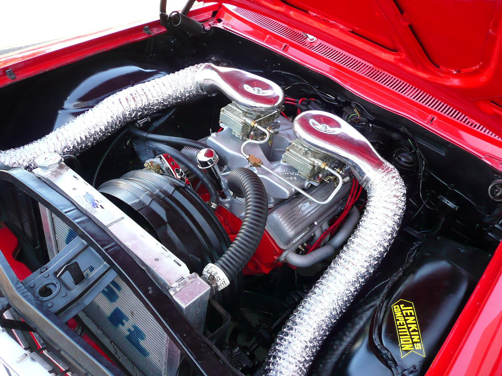 1962 CHEVROLET BEL AIR CUSTOM DRAG CAR - Engine - 80980