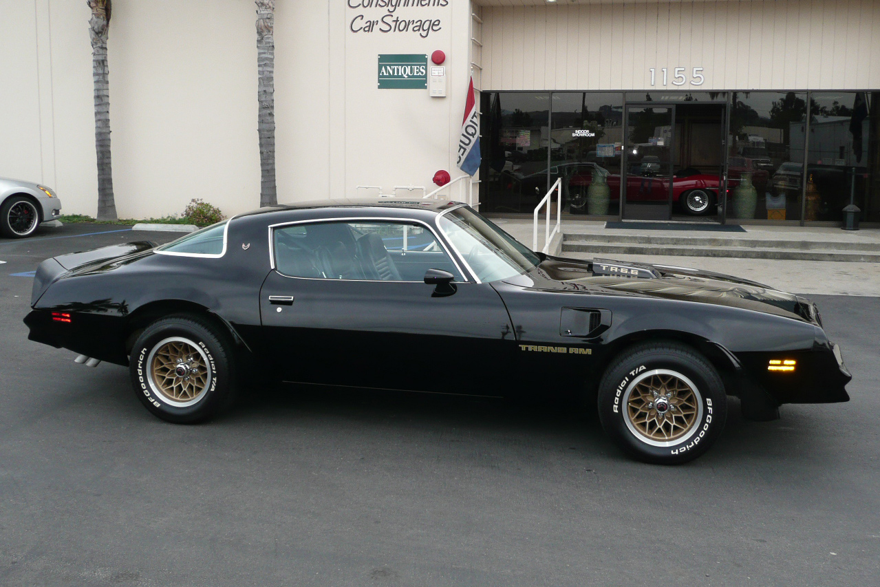 1978 PONTIAC FIREBIRD TRANS AM COUPE - Side Profile - 80983