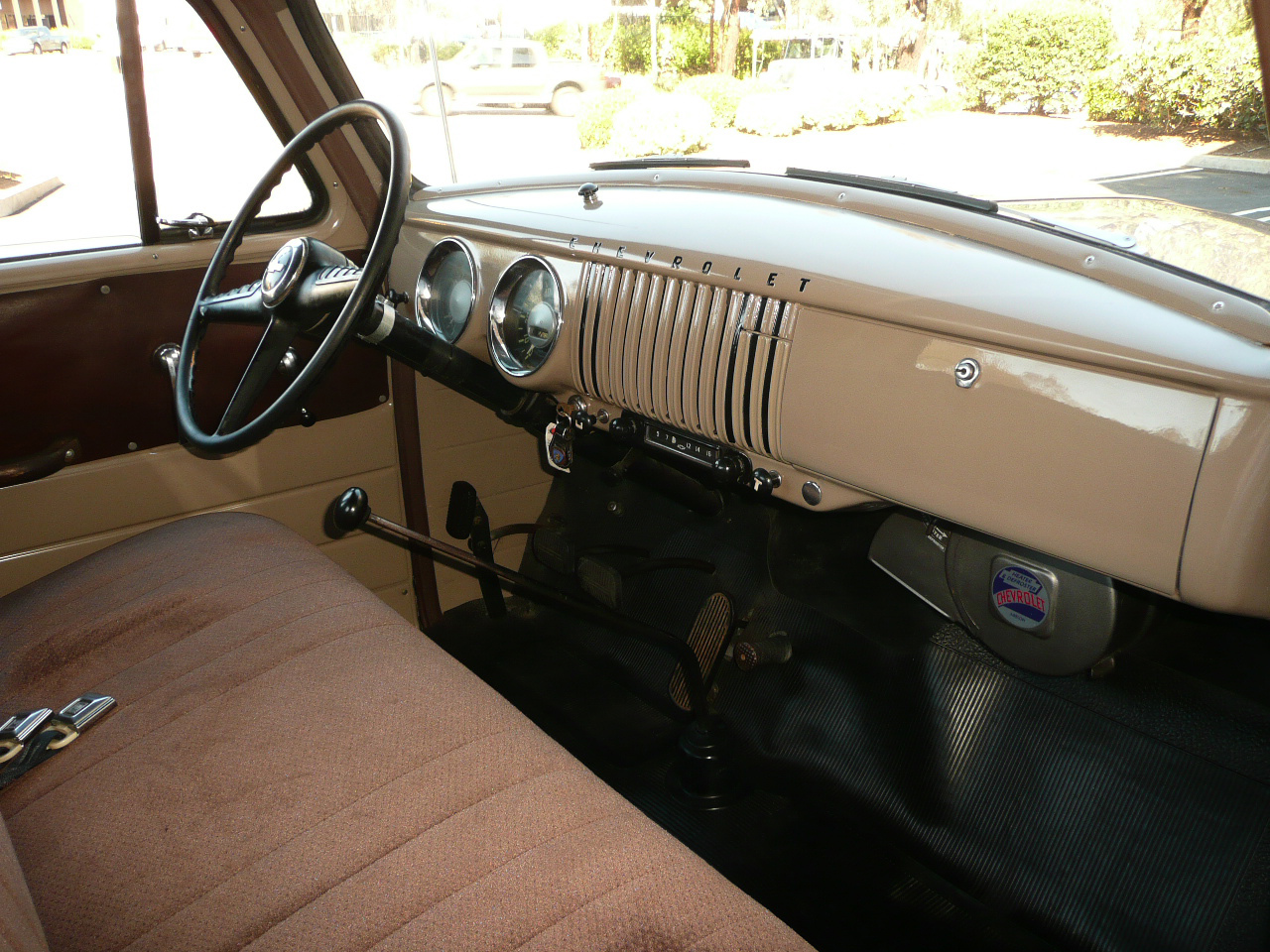 1954 CHEVROLET 3600 LONG BED PICKUP - Interior - 80992