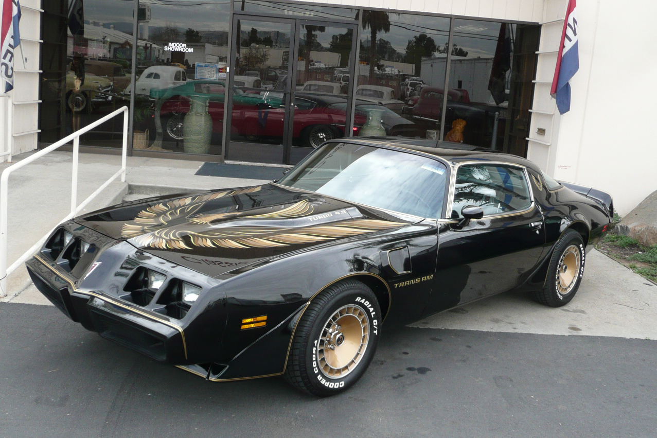 1980 Pontiac Firebird Trans Am Coupe Bandit Edition 80993