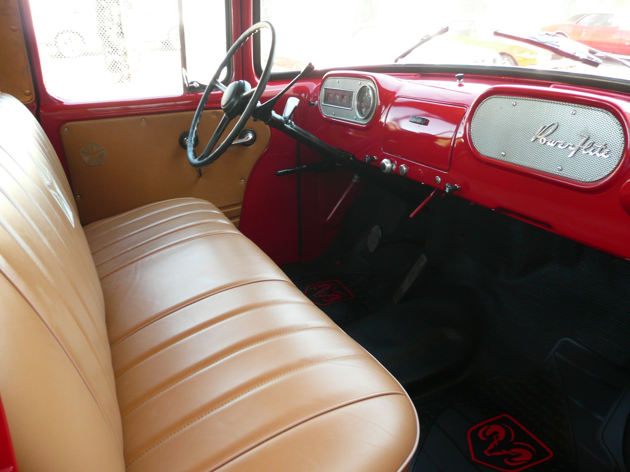 1956 DODGE CL-GL 1 1/2 TON PICKUP - Interior - 80994