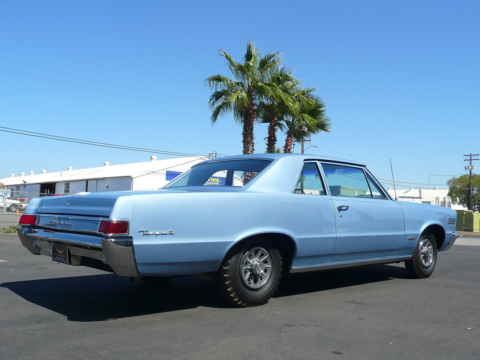 1965 PONTIAC TEMPEST 2 DOOR HARDTOP - Side Profile - 80996