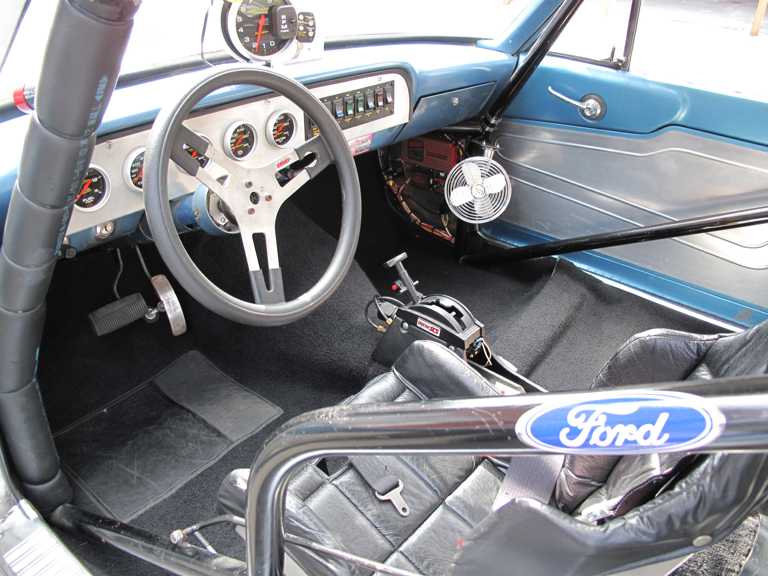 1964 FORD THUNDERBOLT RE-CREATION - Interior - 81009