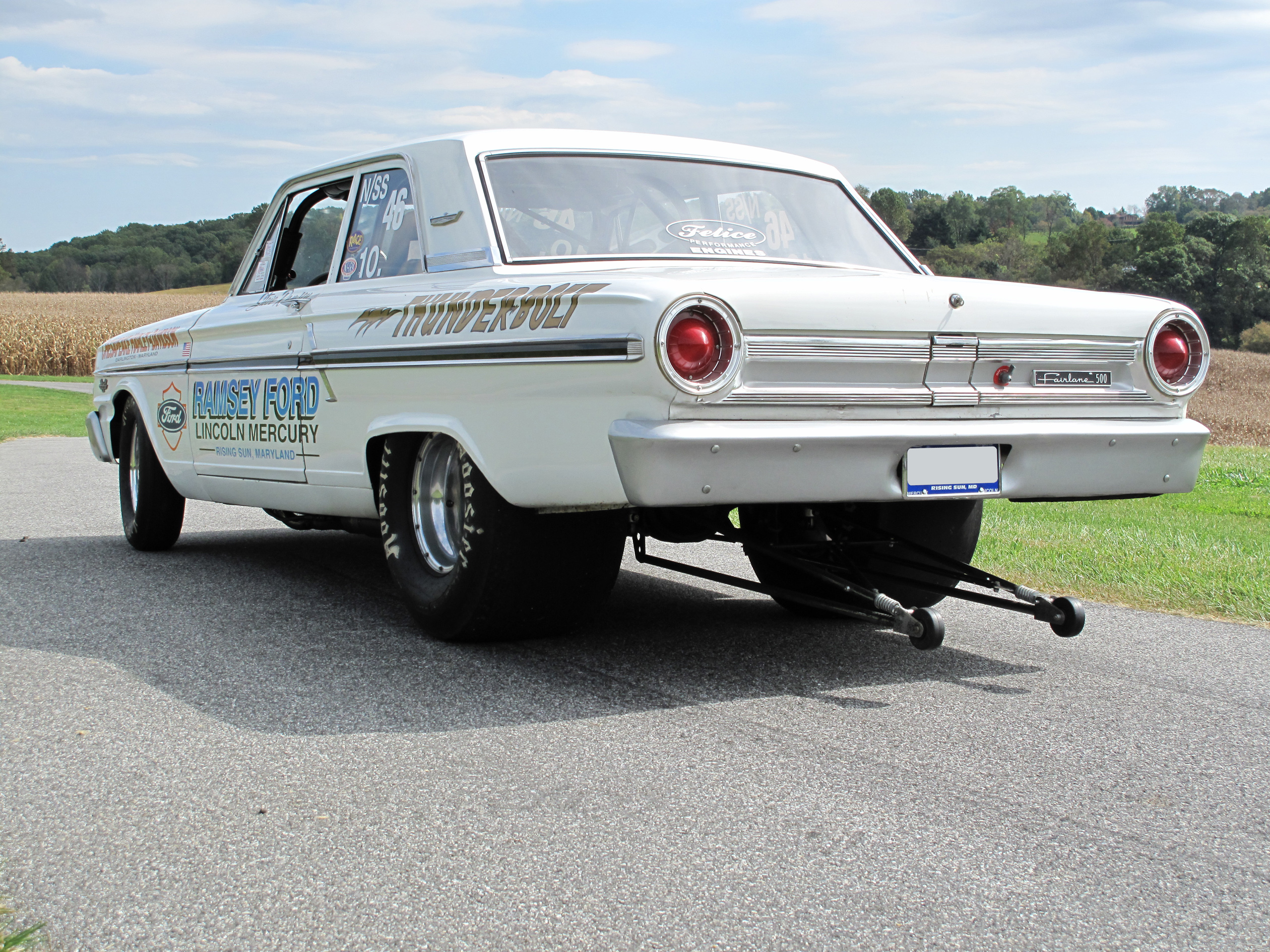 1964 FORD THUNDERBOLT RE-CREATION - Rear 3/4 - 81009