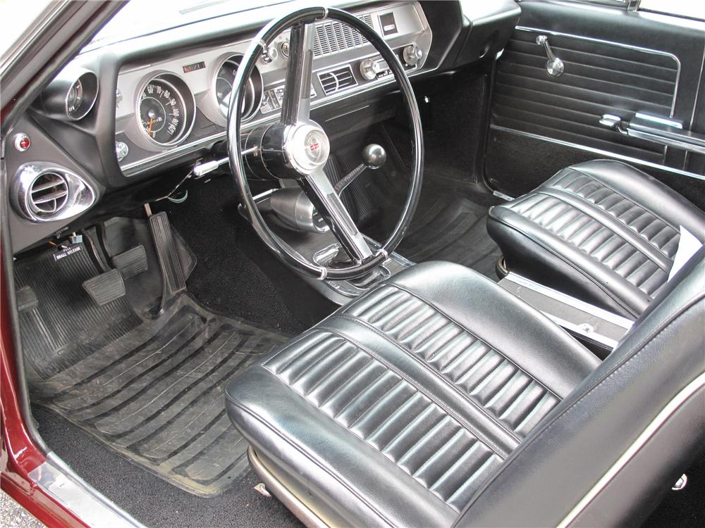 1966 OLDSMOBILE CUTLASS 442 2 DOOR HOLIDAY COUPE - Interior - 81012