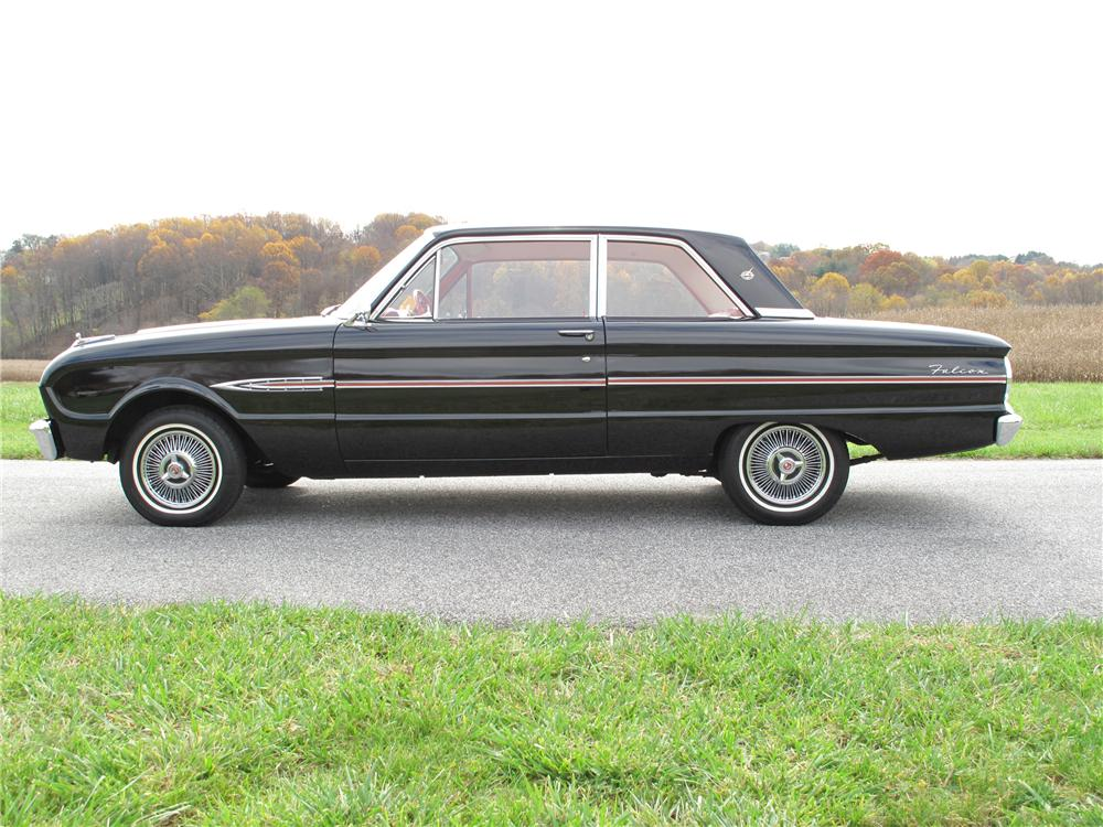 1963 FORD FALCON FUTURA 2 DOOR SEDAN - Side Profile - 81013
