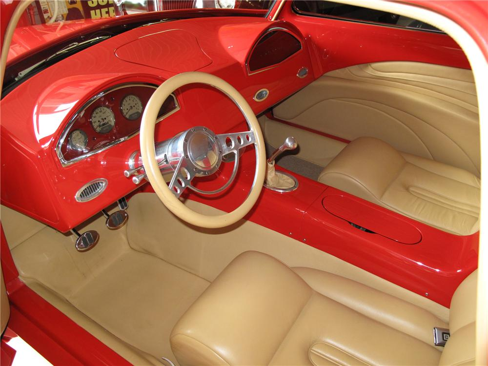 "1949 CHEVROLET CUSTOM BUSINESSMANS COUPE ""M80"" - Interior - 81020"