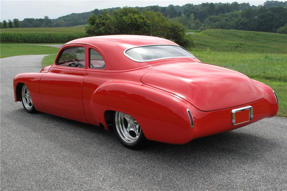 "1949 CHEVROLET CUSTOM BUSINESSMANS COUPE ""M80"" - Rear 3/4 - 81020"