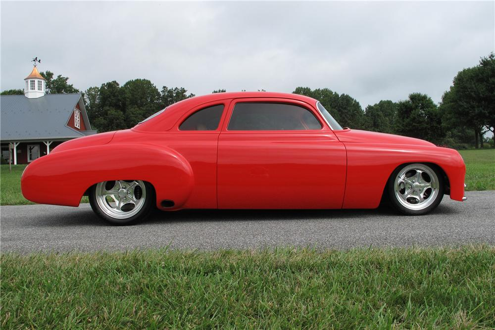 "1949 CHEVROLET CUSTOM BUSINESSMANS COUPE ""M80"" - Side Profile - 81020"