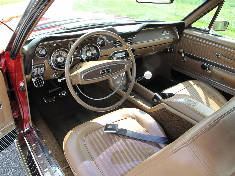 1968 SHELBY GT500 KR CONVERTIBLE - Interior - 81021