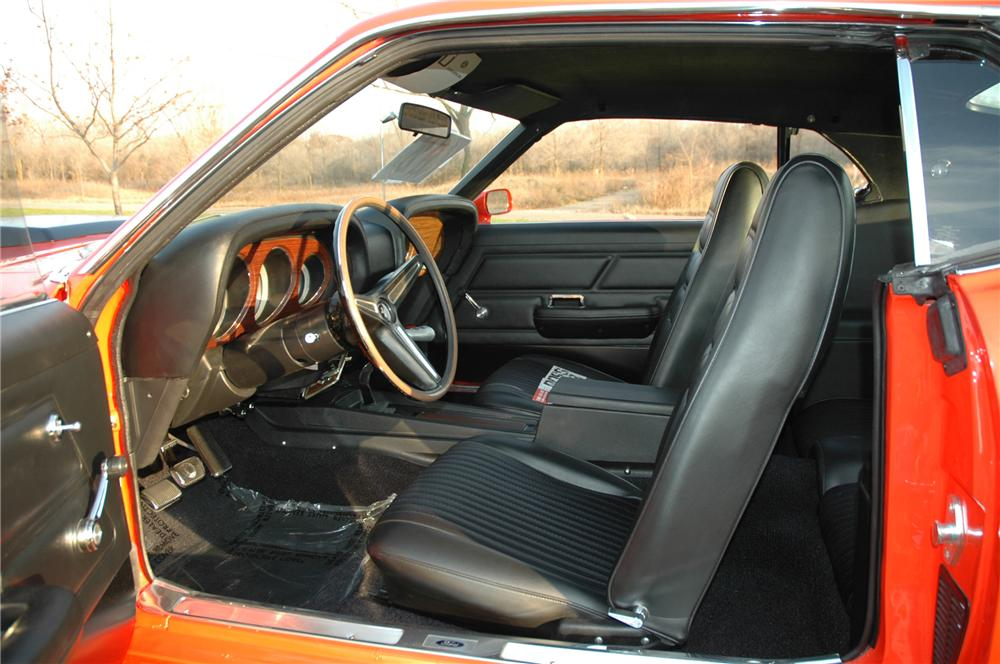 1970 FORD MUSTANG BOSS 429 FASTBACK - Interior - 81025