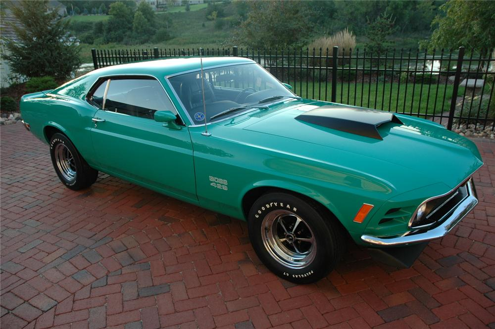 1970 FORD MUSTANG BOSS 429 FASTBACK - Front 3/4 - 81026