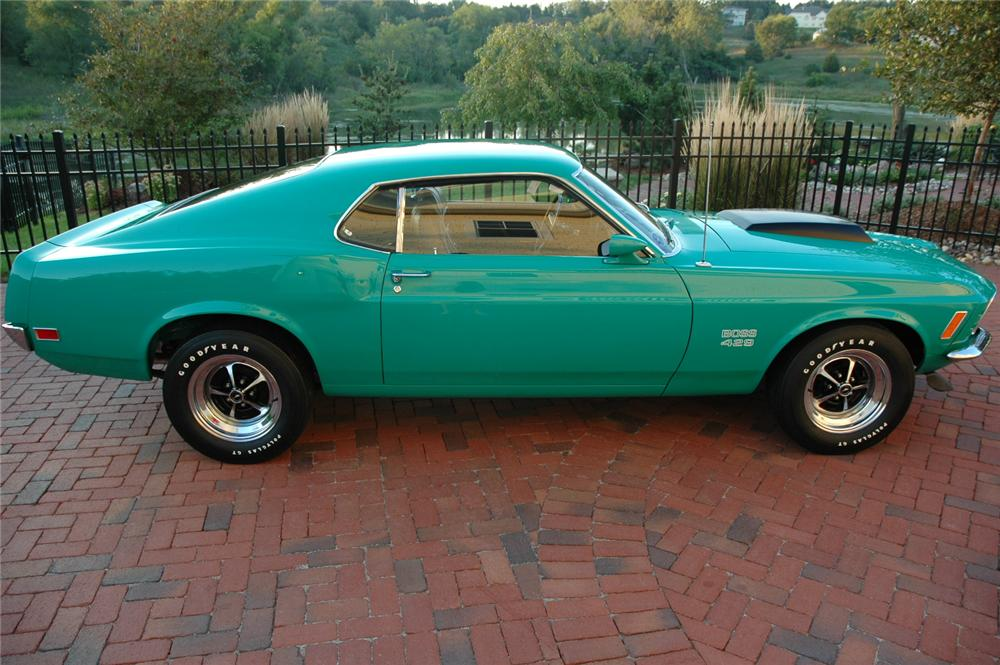 1970 FORD MUSTANG BOSS 429 FASTBACK - Side Profile - 81026