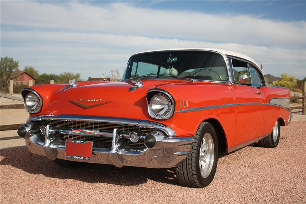1957 chevrolet bel air 2 door hardtop 81050 for 1957 chevy bel air 4 door hardtop