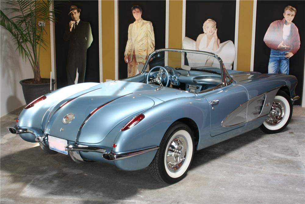 1958 CHEVROLET CORVETTE CONVERTIBLE - 81053