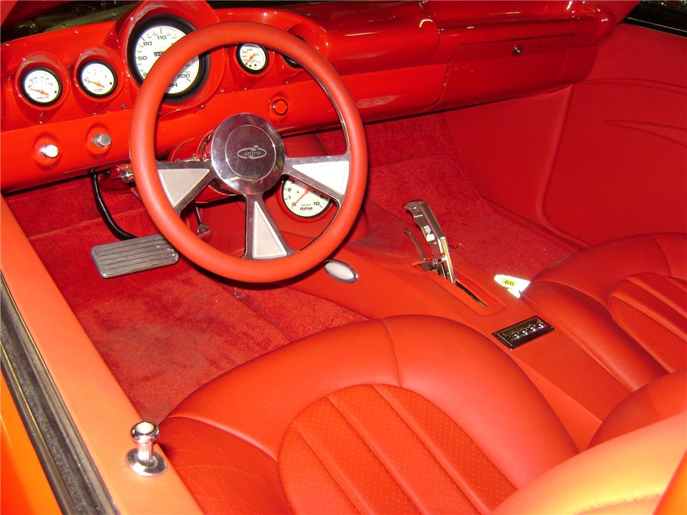 1969 CHEVROLET CAMARO CUSTOM COUPE - Interior - 81072