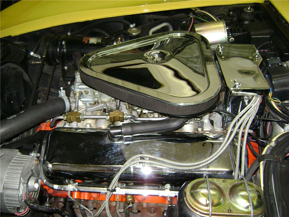 1969 CHEVROLET CORVETTE CONVERTIBLE - Engine - 81074