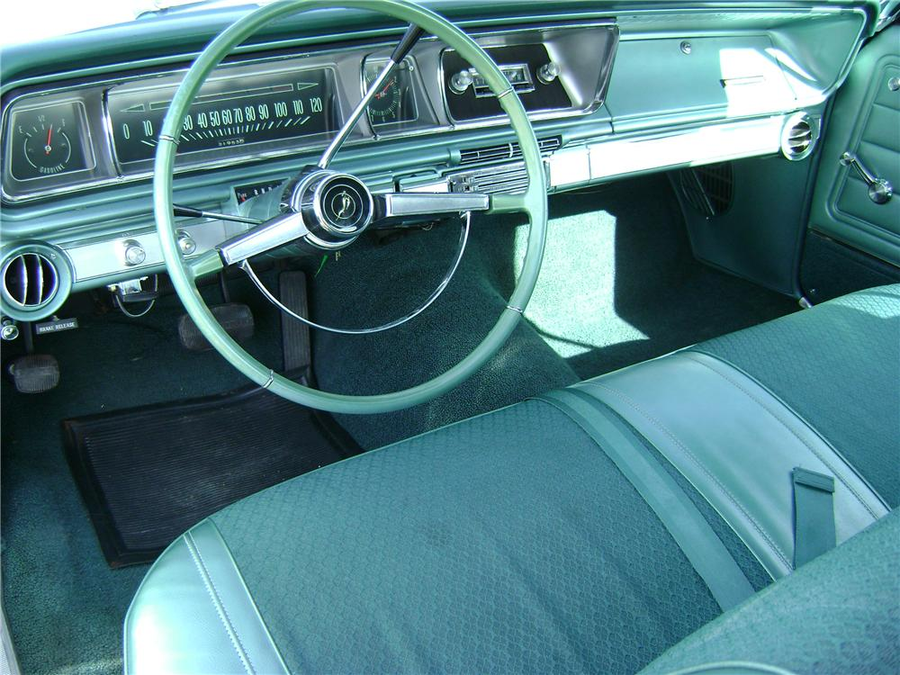 1966 CHEVROLET IMPALA 2 DOOR HARDTOP - Interior - 81075