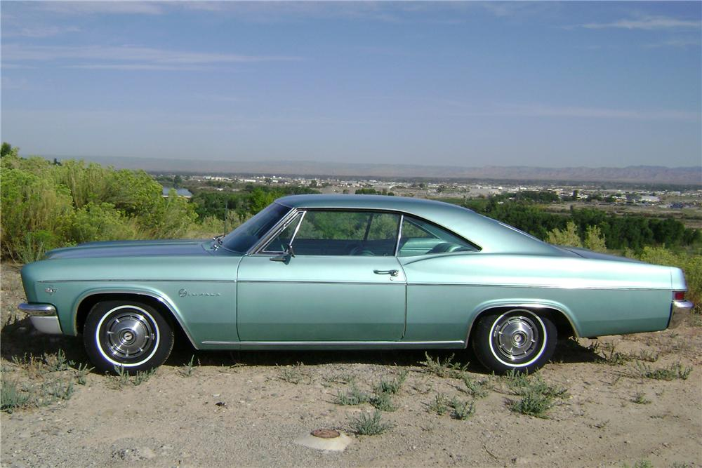 1966 CHEVROLET IMPALA 2 DOOR HARDTOP - Side Profile - 81075