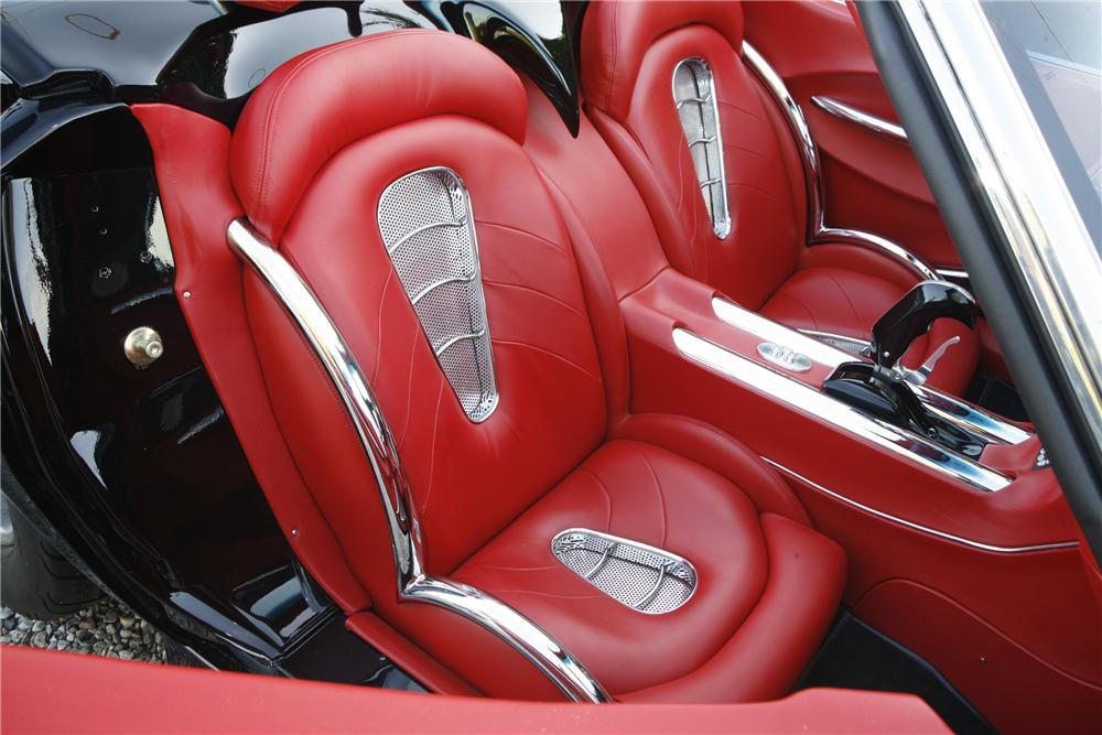 1969 CHEVROLET CORVETTE CUSTOM CONVERTIBLE - Interior - 81078