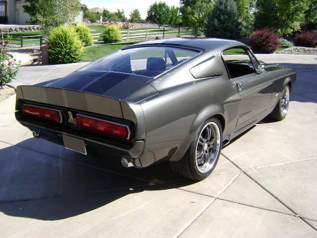 1968 FORD MUSTANG CUSTOM FASTBACK - Rear 3/4 - 81079