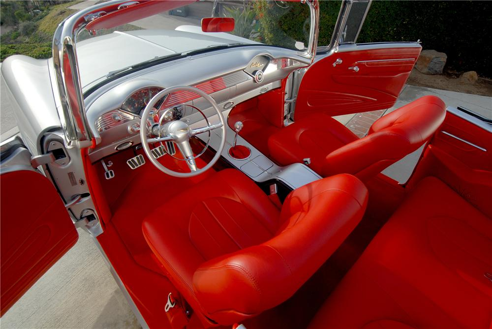 1955 CHEVROLET BEL AIR CUSTOM CONVERTIBLE - Interior - 81081
