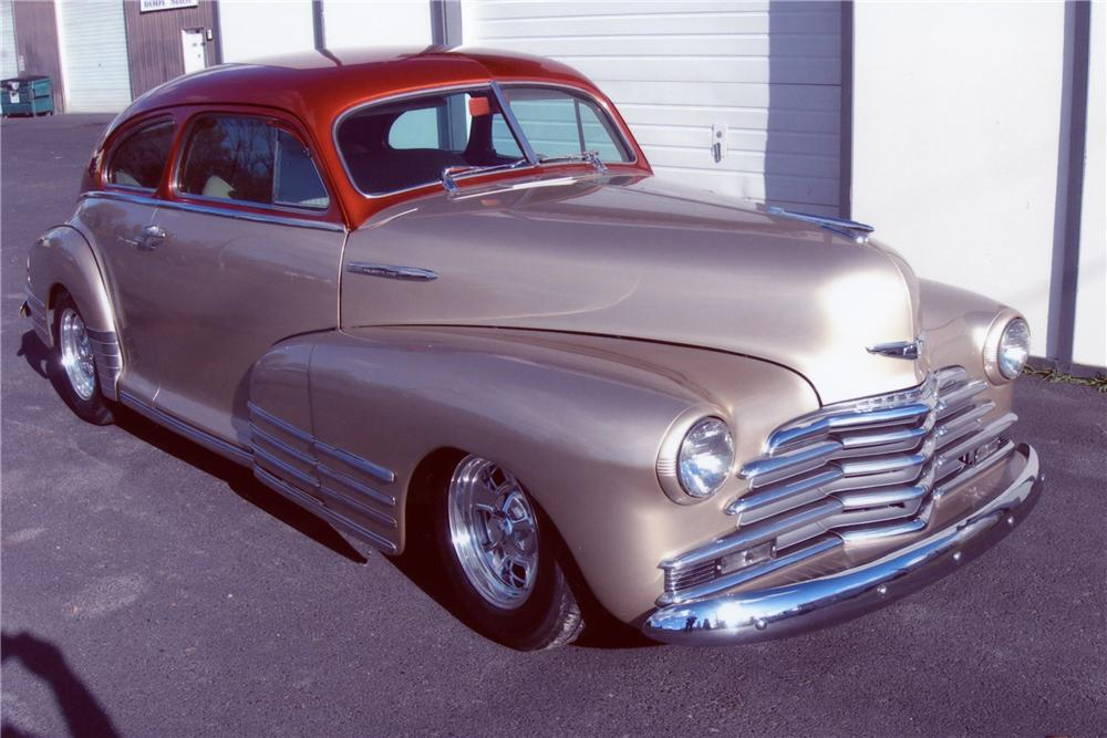 1947 chevrolet fleetline custom 2 door hardtop 81085