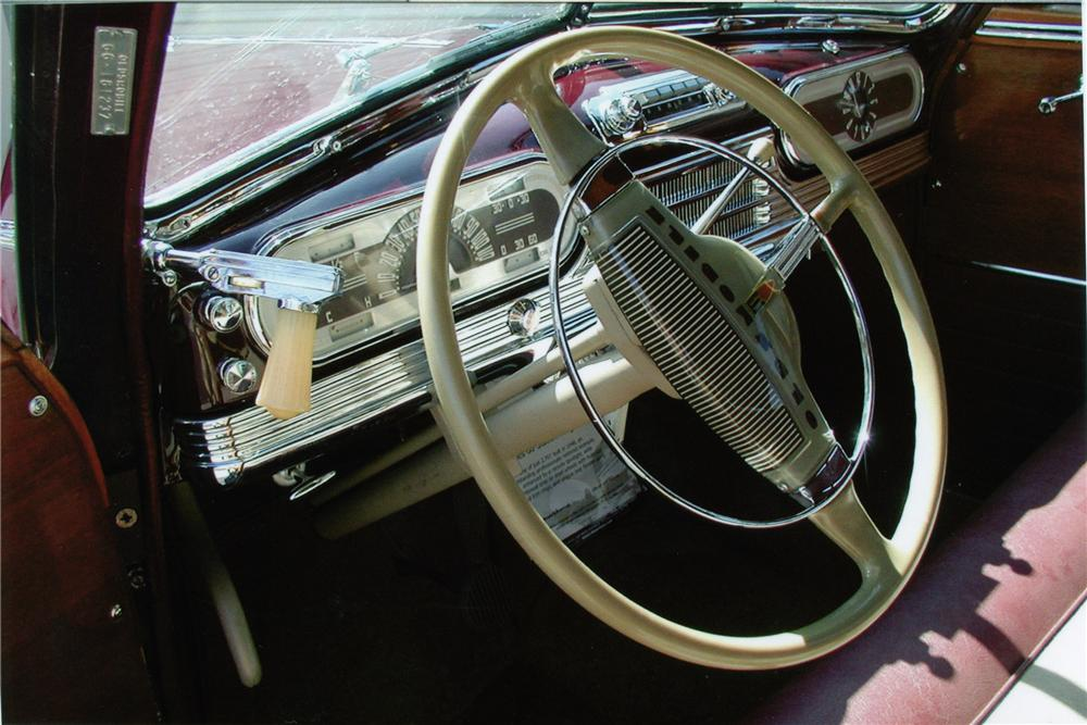 1948 OLDSMOBILE WOODY 4 DOOR WAGON - Interior - 81089