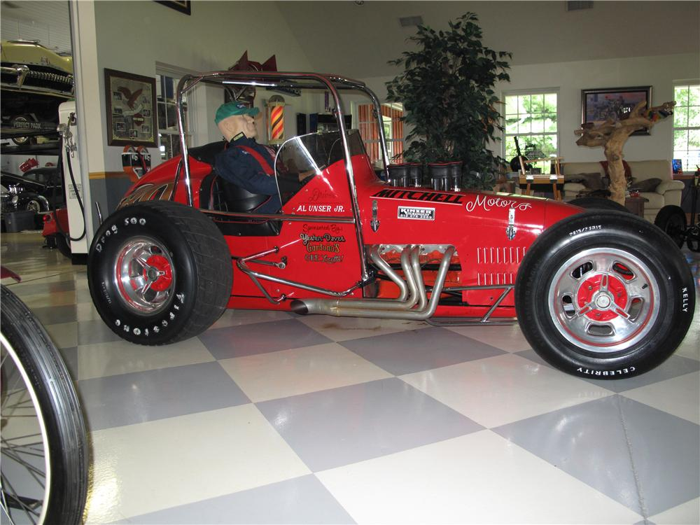 1972 BECK SPRINT CAR - Side Profile - 81093