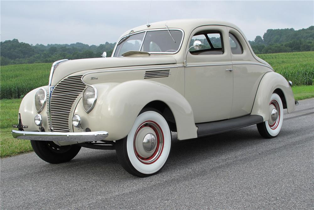 1939 FORD STANDARD 2 DOOR COUPE - Side Profile - 81099