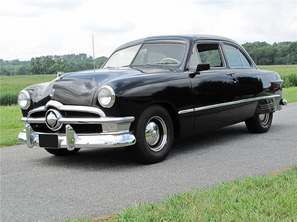 1950 ford custom 2 door sedan 81101. Black Bedroom Furniture Sets. Home Design Ideas