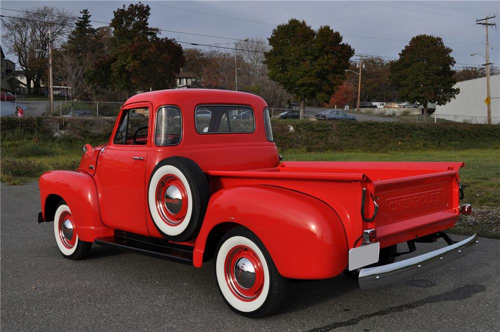 1953 CHEVROLET 3100 PICKUP - Rear 3/4 - 81105