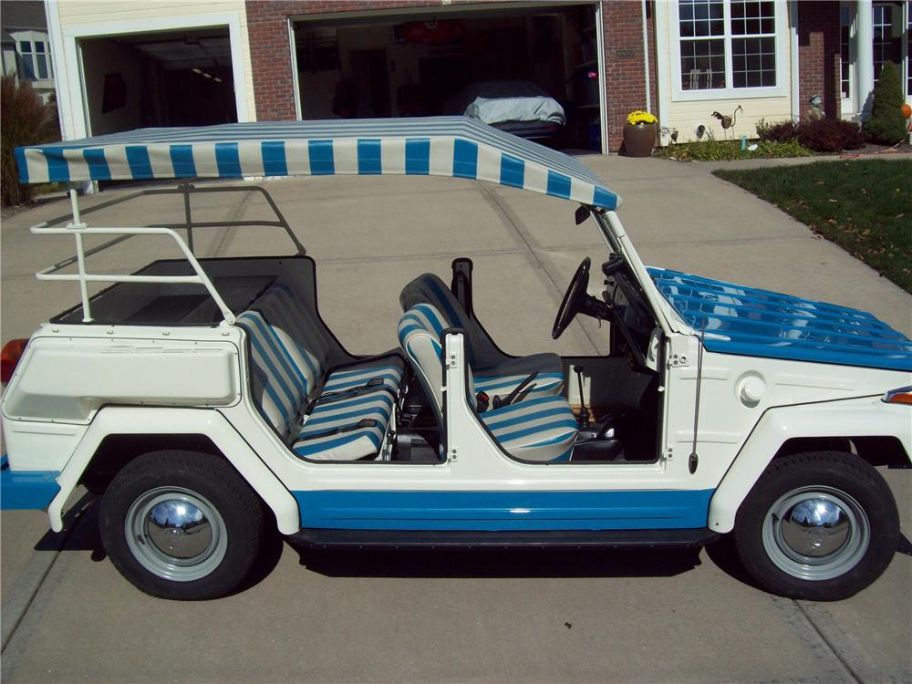 1974 VOLKSWAGEN THING CONVERTIBLE - Side Profile - 81109