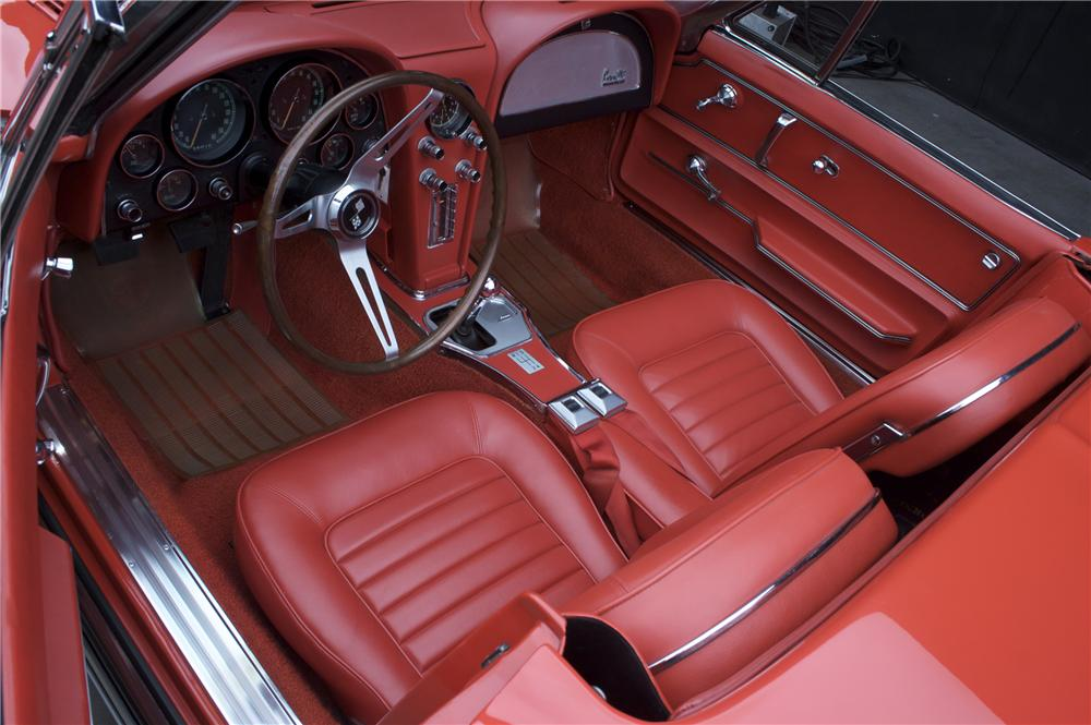 1966 CHEVROLET CORVETTE CONVERTIBLE - Interior - 81114