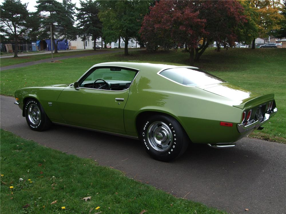 1970 Chevrolet Camaro Ss Coupe Barrett Jackson Auction Company World S Greatest Collector